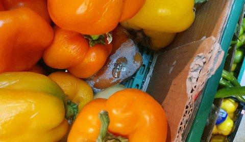 MUGG: Mattilsynet fant en god del grønnsaker og frukt i dårlig kvalitet under inspeksjonen i forrige uke.