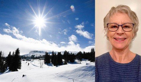 ALVORLIG DIAGNOSE: Gunnhild Eidsvoll oppfordrer alle til å følge solvettreglene til Kreftforeningen. Selv fikk hun føflekkreft.