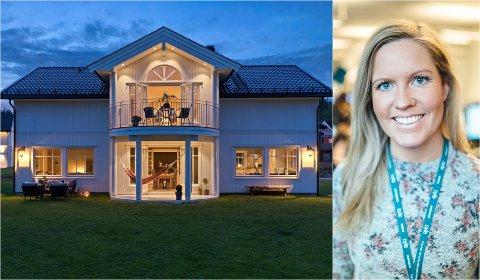 SELGER ENEBOLIGEN: Christina Eriksen (32) ønsker å selge eneboligen.