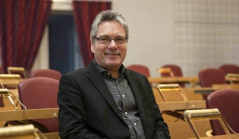 Får mest: Ordfører Thor Edquist bekrefter at Høyre, som det største partiet, får lederne i tre hovedutvalg. Venstre og Frp får hvert sitt utvalg, mens Senterpartiet får varaordførerne.