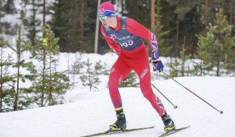 Gikk fort: Marius Svendsby gikk fort i norgescuprennet på Nes. Nå retter den lovende Tistedalen-løperen blikket mot junior-NM. – Jeg har fortsatt mye å gå på, og håper å ta nye steg utover vinteren, sier skitalentet fra TFL.Foto: Svein Halvor Moe