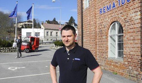 Kunden er sjef: – Det beste er å lytte til kundene for å drive godt og lønnsomt, sier den nye Rema-sjefen i Tistedal.