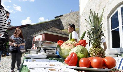 Mange Fristelser: 50 utstillere vil presentere spennende mat, både ute og innendørs.