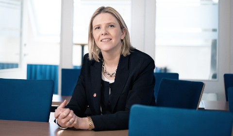 KOMMER: Sylvi Listhaug holder foredrag i Halden 5. september.