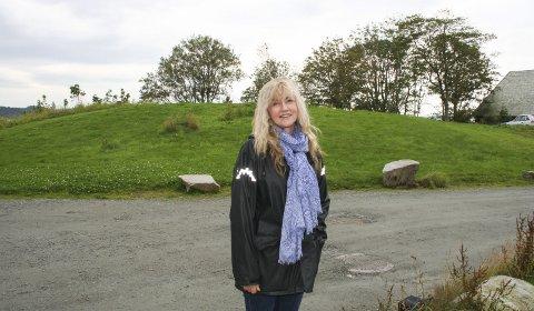 OVERRASKET: Marit Synnøve Vea i Avaldsnesprosjektet fikk seg en positiv overraskelse da regjeringen la fram sitt reviderte nasjonalbudsjett.