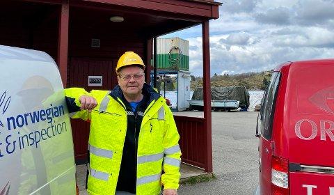 KJØPTE OPP KONKURRENTEN: Som daglig leder for Norwegian Test & Inspection AS og Origo Test & Inspection AS, er Jari Johannes Inermo nå sjef for elleve inspektører.