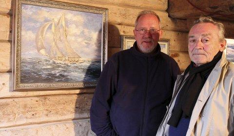 POMORKAMERATER: Asbjørn Nilsen og Sergey Zvyagin er to av fire kunstnere som bidrar til utstillingen Pomoria. Sergey har reist jevnlig til Vardø siden 1988, og betegner Vardø som sitt andre hjem.