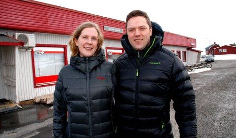 FLYTTET HJEM: Synøve og ektemannen Torfinn flyttet fra Oslo til Finnmark for å gi ungene en oppvekst lik den de selv hadde. Arkivbilde tatt før oppussingen begynte.