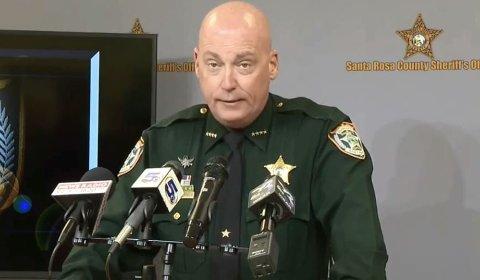 TRAGISK ULYKKE: Politiet i USA omtaler skytehendelsen i Florida, der en nordmann døde, som en tragisk ulykke.