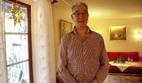 Takknemlig: Hans Risberg (79) er glad for at hjertestansen fant sted på et heldig tidspunkt. foto: lars ivar hordnes