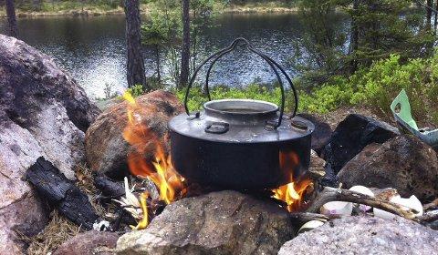 Gratis kaffe: Roar Thorsen fikk en hyggelig opplevelse da han skulle på fisketur.FOTO: ROAR THORSEN