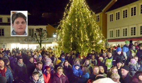Annerledes: På grunn av pandemien, blir det ikke gang rundt juletreet på Torvet i år.