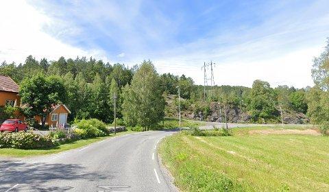 Det var langs Kjølebrøndsveien at ulykka skjedde. Bildet er brukt som illustrasjon.
