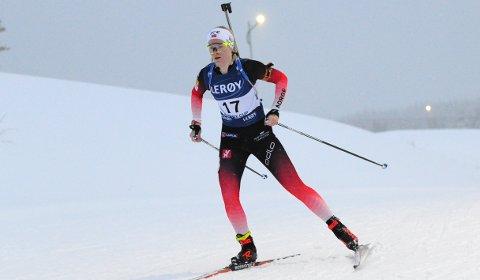 Ragnhild Femsteinevik sleit med utteljinga på standplass på Lygna. Men leverte sitt beste langrenn for vinteren og er skikkeleg på gang.