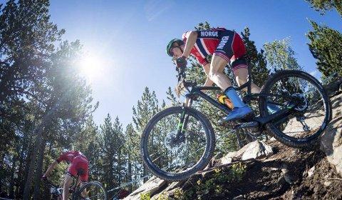 I FORM: Erik Hægstad viste at formen er på plass i Andorra denne helgen. Sjuendeplass er hans beste plassering noen sinne.