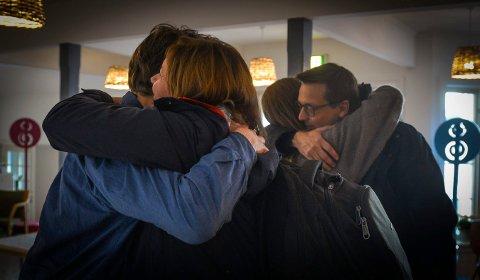 Glogerfestspill forberedelser 2020 Fra venstre: Isa katharina Gericke, Frank Havrøy ønsker musikere velkommen. Foto: Eigil Kittang Ramstad
