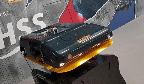 NYHET: HullSkater er produktet som Kongsberg Maritime har utviklet sammen med Jotun og Semcon Norge.