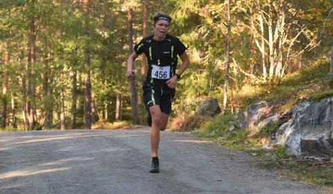 RASKEST: Andreas Myrvold Skovlyst vant Korset Opp og mandag var han også best i Lurdalsrunden. FOTO: OLE JOHN HOSTVEDT