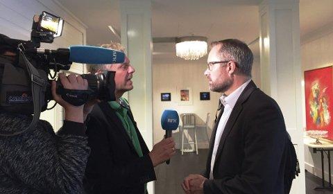 FREMDRIFT: I dag skal daglig leder i Rygge Airport AS, Knut R. Johannessen, fortelle om status og fremdrift for flyplassplanene i Østfold fylkeskommune.