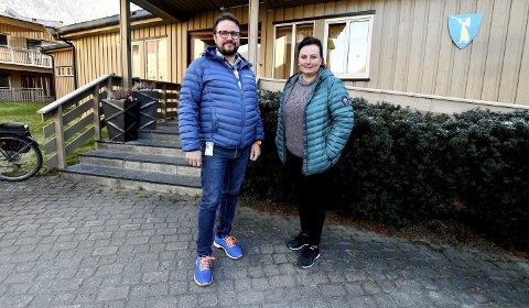 Økt press: Arild Kongsrud (virksomhetsleder) og Merethe Sletten (avdelingsleder for hjemmetjenesten på Otta) sier hjemmetjenesten i Sel opplever økt press.