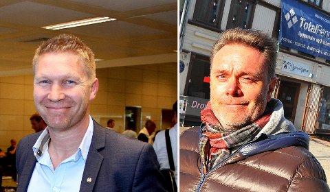 Vegard Berg-Johansen (t.v.) tar over som daglig leder i Totalrenovering AS. Bård Sverdrup (t.h) skal rydde tid til å jobbe med prosjekter.