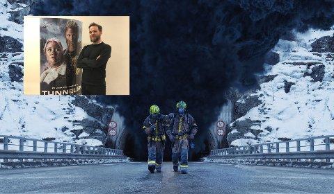"""Tunnelen: Kristoffer Sindre Vittersø (31) har vært med å produsere """"Tunnelen"""", spenningsfilmen som har førpremiere i Larvik 22. desember."""