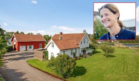 FLYTTER: Dette huset på Føynland har Graf Stenberg kalt «hjem» i 14,5 år. Men selv om de flytter, vil det fortsatt være Føynland som er hjemme.