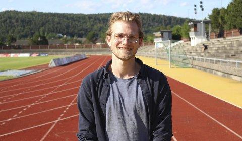 STOR LØPSSTYRKE: Martin Bruun var en god friidrettsutøver som barn. Særlig på lengre distanser kjempet breviksgutten om medaljer.