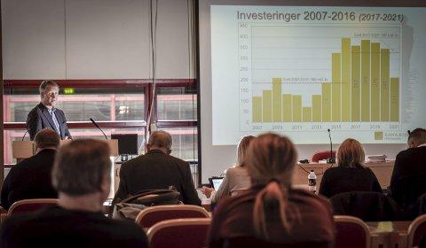 Framtidsretta: I rådmann Robert Pettersens forslag til budsjett og økonomiplan for Rana kommune, ligger det an til store investeringer. Foto: Øyvind Bratt