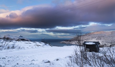 Utsikt: Snart vil det bli enklere å nyte utsikten på Sjonfjellet i all slags vær, med den nye varmestuen skissert av Atelier Oslo. Foto: Emilie Sofie Olsen