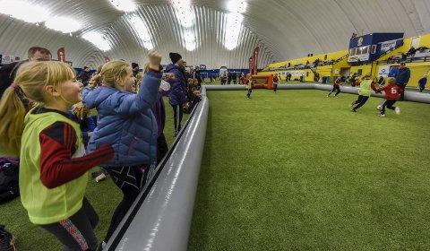 Ribbecup: Årets ribbetrim blir naturlig nok ikke i Stålhallen, slik som her i 2016. Foto: Øyvind Bratt