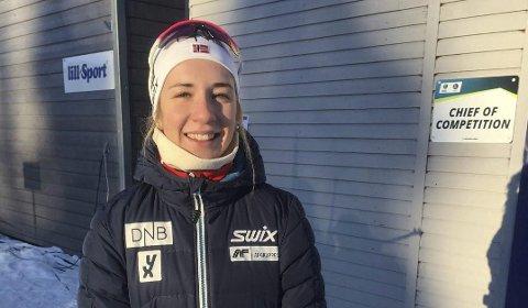 VERDENSCUPKLAR: Sisteårsjunioren Emilie Ågheim Kalkenberg, Skonseng UL.