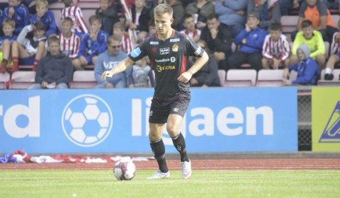 VANT: Vebjørn Walnum Vinje og Stjørdals/Blink trengte bare ett poeng mot Sola for å rykke opp i 1. divisjon. De satte et verdig punktum.