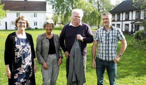 Inviterer: Turid Narten Larsstuen, Kari Ensby Teslo, Roger Andreassen og Olaf Aasen har planene klare for konsert på Mo. De lover Tango for to, på Mo. Og RB deler ut 20 biletter til sine lesere. Foto: Arkiv