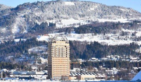 VOLD: En mann er dømt for fengsel etter vold i Mjøstårnet.
