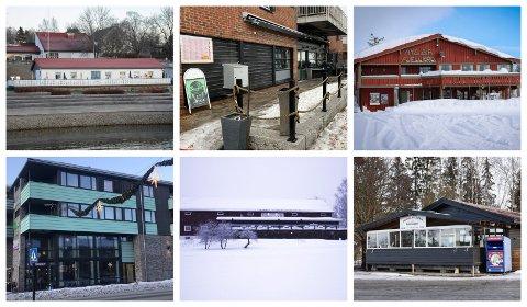 KONKURS: Driverne av disse restaurantene gikk konkurs i 2020. Det er nå ny aktivitet i fire av lokalene.