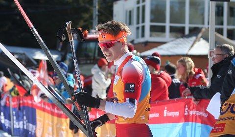 Landslagsklar: Jonas Vika er tatt ut på juniorlandslaget i langrenn i sin siste sesong som junior.  Her fra Junior-VM  i Oberwiesenthal i Tyskland i mars.