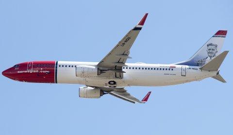 Norwegian hadde 2,8 millioner passasjerer på sine ruteflyginger i juni, en økning på 13 prosent sammenlignet med samme måned i fjor.