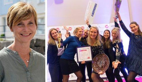VIL VENTE: Tone Reneflot Thoresen og resten av Novapro-styret har bestemt seg for å vente med å kåre årets kvinnelige forbilde 2020. Sist var det Anja Stenslette som vant.