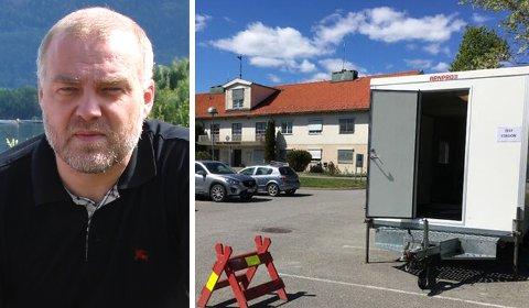 SMITTE: Hole kommune og smittevernlege Bernt Ivar Gaarder meldte tirsdag at kommunen har en ny person med påvist korona-smitte.