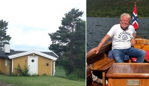 BRUKSENDRING: Knut Gullingsrud har i en årrekke ønsket bruksendring for denne hytta. Nå kan han få bruke den som bolig.