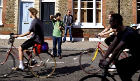 Ha kameraet klart. Det dukker alltid opp drøssevis av motiver når du rusler rundt i en av Londons mange gater. FOTO: Tom Gustavsen