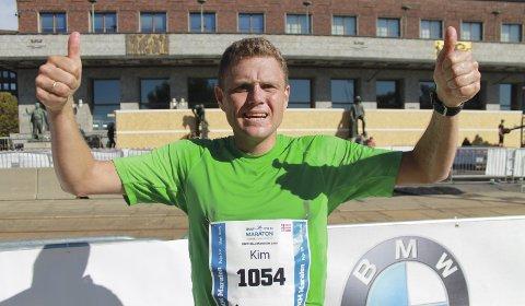 HAR STOR KAPASITET: Kim Are Bull Hansen har tatt store steg som maratonløper det siste året. 36-åringen har et stort potensial på distansen.