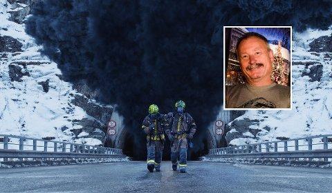 VENTER STORINNRYKK: Filmen «Tunnelen» er en klaustrofobisk og spennende katastrofefilm som også er utrolig rørende. Vi forventer oss kjempebesøk på denne filmen,kinokonsulent Bjørn Helge Jahnsen.
