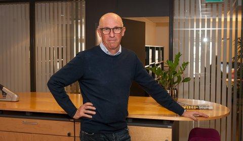 BYER VOKSER: Øystein Bøe visert til en klar trend om at flere vil bo nær bysentre. Da må det legges til rette for dette, mener han.