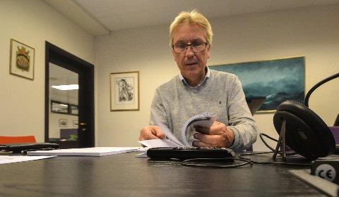 IKKE OVERRASKET: Beløpet Sandefjord kommune får kommer ikke som noen overraskelse på budsjettsjef Eirik Fossnes, som la inn tilsvarende beløp i budsjettet for noen uker siden.