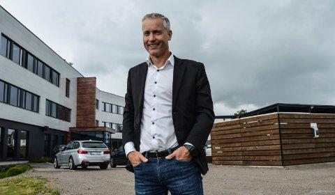DOBLER: Kommunal- og moderniseringsminister Nikolai Astrup har gitt endelig ja til Hans Gaarder Eiendoms ønske om utvidelser på Tassebekk. Det er en avgjørelse eiendomsdirektør Jan Kjetil Skaug jubler over.