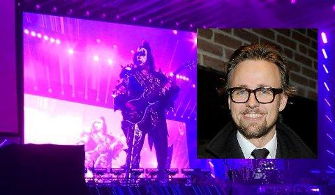 LEGENDER: Kiss har holdt det gående i snart 50 år. Joachim Rønning er aktuell som regissør når det nå skal lages film om rockerne fra New York.