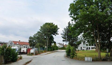 Det skal skje mye utbygging i områdene av Myklabergveien, som her er avbildet.
