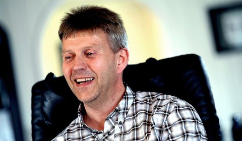 Flytter:  Roy Strand  leder i  FK Sparta Sarpsborg forteller at de flytter 1. runde i cupen til Sarpsborg stadion.
